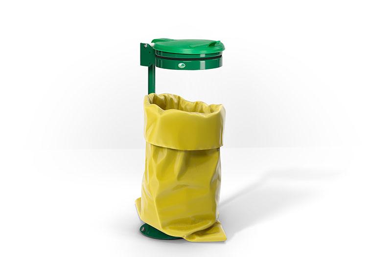 Müllsackhalter und -ständer