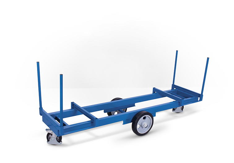 Langmaterialwagen-/Roller