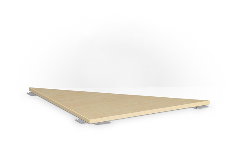 Schreibtisch-Verkettungsplatten und Anbautische