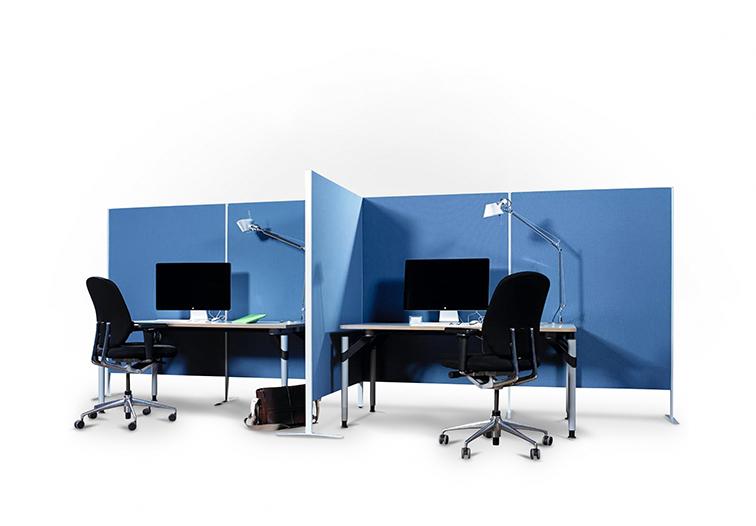 Büro-Trennwandsysteme